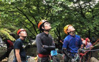6月会山行  岩登りトレーニング