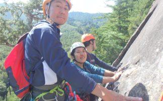 川崎市山岳協会 夏山技術研修会「小川山でクライミング」