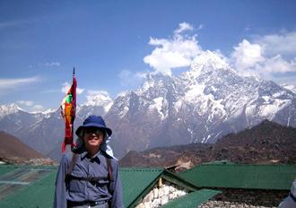 2006.4 ネパール エベレスト タンボチェより